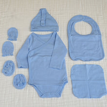 Load image into Gallery viewer, 6 Piece Suit Set - New Born Size Take Home Outfit