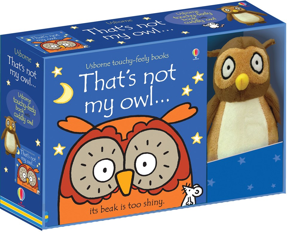 Thats Not My Owl Book and Toy Gift Set - BabySpace Shop