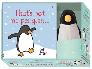 Thats Not My Penguin Book and Toy Gift Set - BabySpace Shop