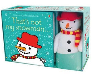 Thats Not My Snowman Book and Toy Gift Set