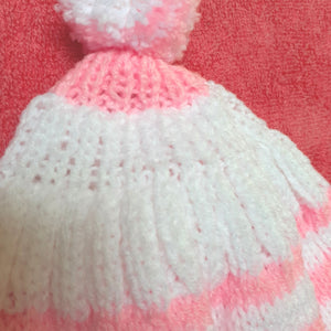 Toddler Knitted Hat - 12 months onwards