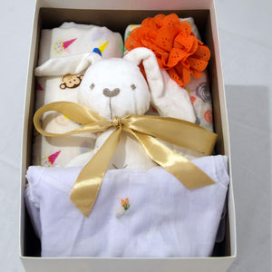 Welcome Baby Hamper - With Headband