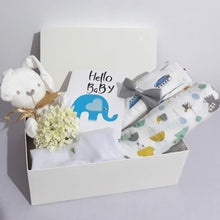 Load image into Gallery viewer, Welcome Baby Hamper - With Bow Tie - BabySpace Shop
