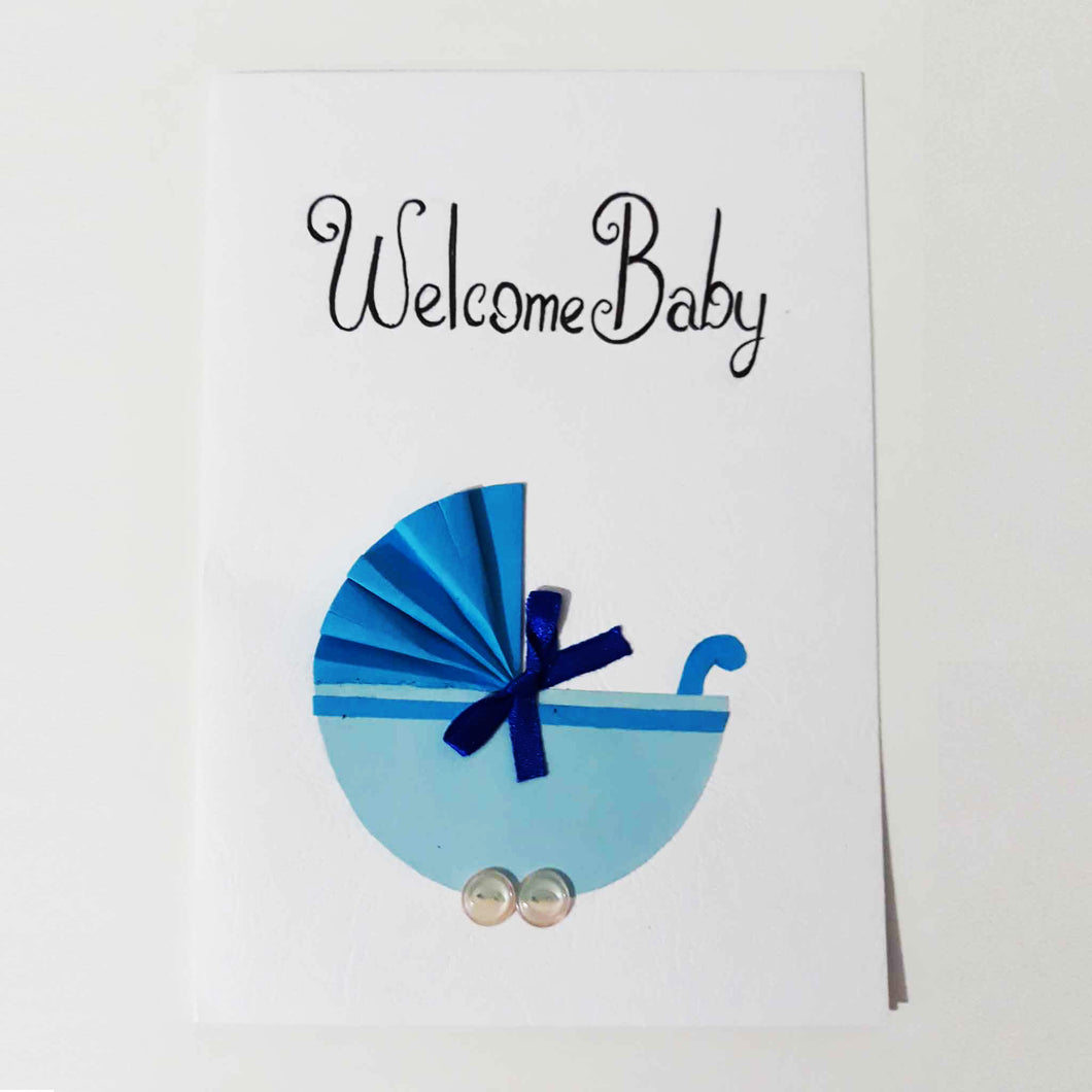 Welcome Baby Handmade Card Collection - BabySpace Shop