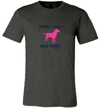 Labrador T-shirt - Worry Less, Wag More! From Lab HQ
