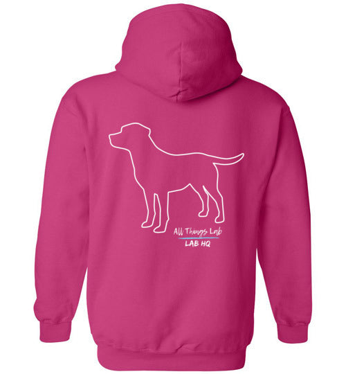 Labrador Shirt Hoodie  LABS Unleashed All Things Lab Hoodie From Lab HQ