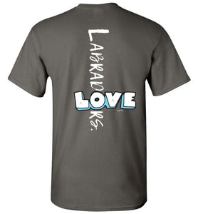 "Lab T-shirt - ""Love Labradors"" T-shirt From Lab HQ"