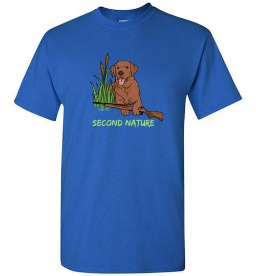 Second Nature - Red Fox Lab Shirt - Duck Hunting From Lab HQ