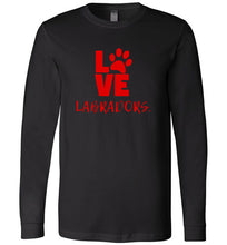 Labrador T-shirt - Love Labradors T-shirt From Lab HQ