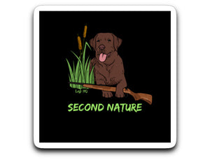 Yellow, Chocolate, and Black Lab Decals From Lab HQ - Hunting