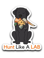 Labrador Retriever Decals - Hunt Like A Lab