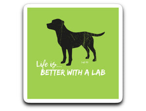 LABRADOR STICKERS - Black - FROM LAB HQ
