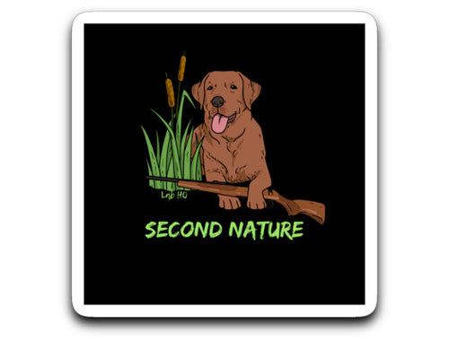 Labrador Decal Red Fox Labrador Hunting From Lab HQ