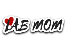 Labrador Retriever Decals - Lab MOM From Lab HQ