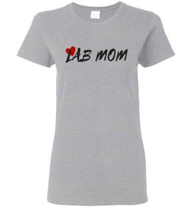 Labrador T-shirt - Lab MOM Tee from Lab HQ