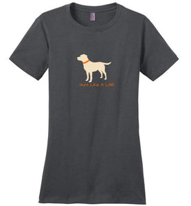 Hunt Like A Lab - Yellow Lab T-shirt From Lab HQ