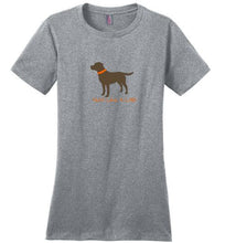 Hunt Like A Lab - Chocolate Lab T-shirt From Lab HQ