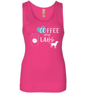 Coffee And Labs Labrador Tank From Lab HQ