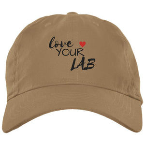 Labrador Retriever Hat - Love Your Lab - Brushed Twill Cap From Lab HQ