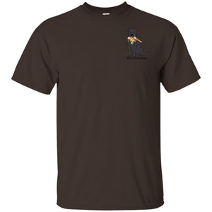 Black Labrador T-shirt - #Hunt Like A Lab T-shirt From Lab HQ -Short Sleeve