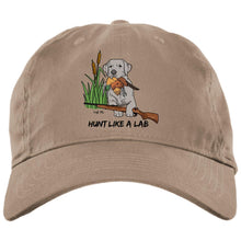 Silver Labrador Retriever Ball Caps - Hunt Like A Lab Hunting Cap From Lab HQ