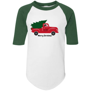 Labrador Retriever Truckin' Lab YOUTH Jersey T-shirt