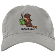 Chocolate Labrador Retriever Ball Caps -Hunt Like A Lab - Hunting Cap From Lab HQ
