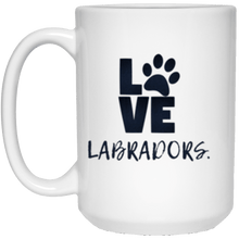 LOVE LABRADORS Mug - Labrador Retriever Mug From Lab HQ