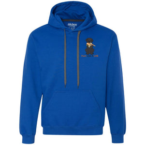 Labrador Retriever Hoodie Hunt Like A Lab - Black Lab