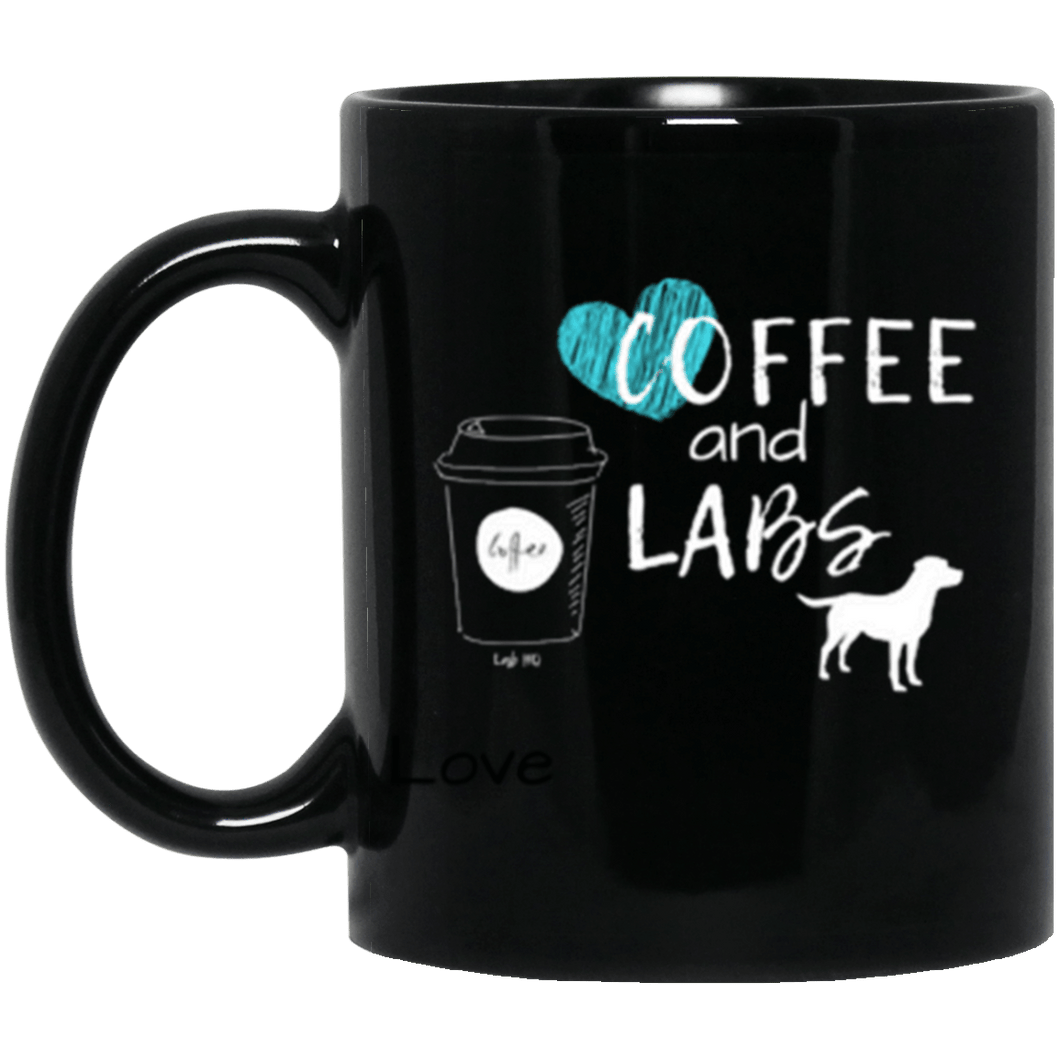 Coffee and Labs Labrador Mug From Lab HQ