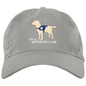 Yellow Lab Hat - Life Is Better With A Lab - Service Dog - Yellow Lab Hat From Lab HQ