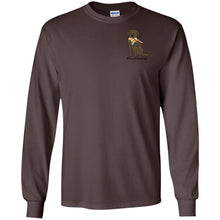 Chocolate Lab T-Shirt #Hunt Like A Lab Long Sleeve T-shirt From Lab HQ