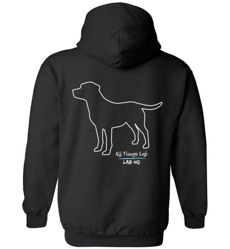 Labrador Hoodie  LABS Unleashed All Things Lab Hoodie From Lab HQ