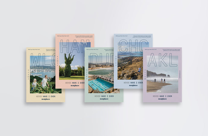 Collect the Set: Never Have I Ever City Guides