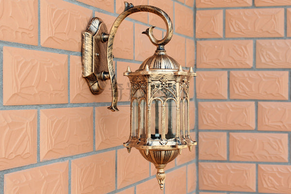 Retro Outdoor Wall Light Sconce (Waterproof) - Highline Station