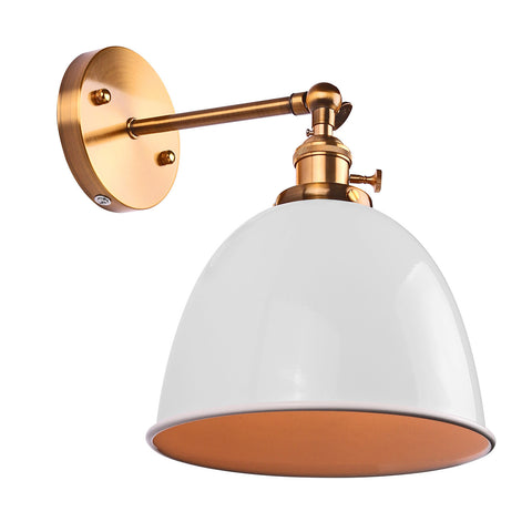 Modern Vintage Bowl Wall Light Sconce - Highline Station