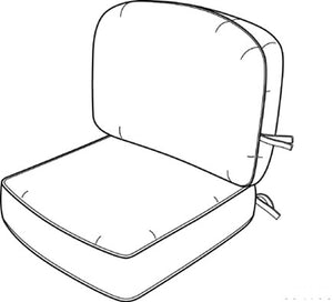 Hanamint Standard Club Chair Cushion