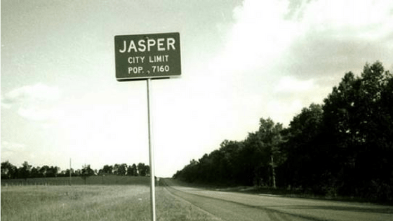 'Two Towns of Jasper' and the 'veil' between the races