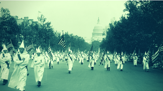 Wildly popular 1920s KKK gave us the alt-right