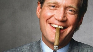 "David Letterman in image from book ""Letterman: Last King of Late Night"""