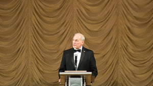 John Kelly addresses a gala in 2017, prior to being named White House chief of staff