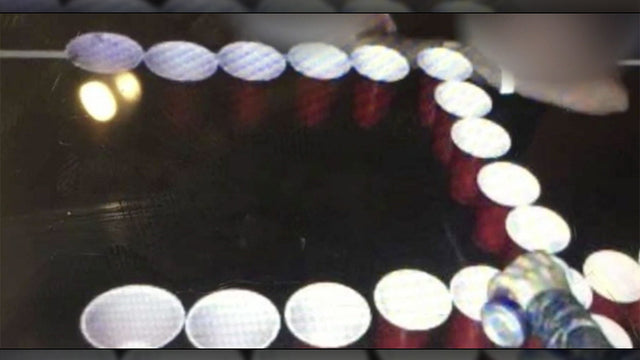 Girls at a Catholic school drank beer out of cups arranged in a swastika. Guess what they were busted for?