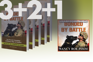 Bonded By Battle - 3 signed copies + 2 unsigned + 1 audiobook