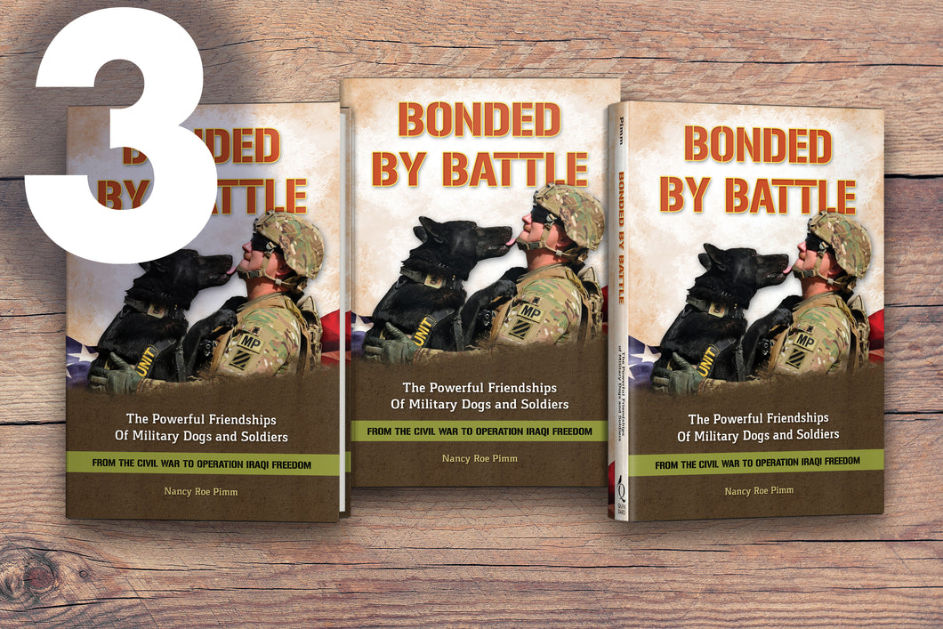 Bonded By Battle - 3 signed copies