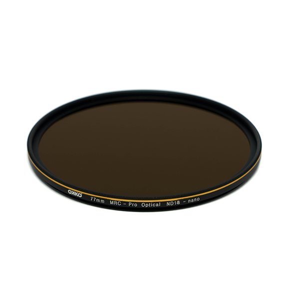 Pro / ND18 (6 Stop) Neutral Density Filter (Sold Out) - Okko Pro Limited