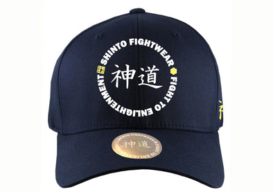 Shinto Flex Fit Blue Cap