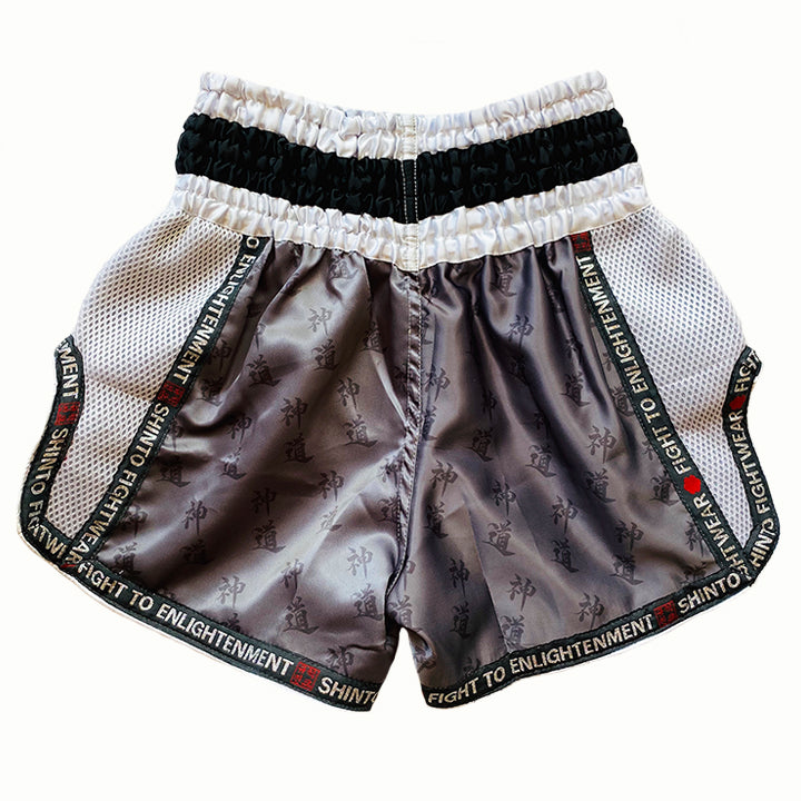 Shinto Shirogane Muay Thai Shorts