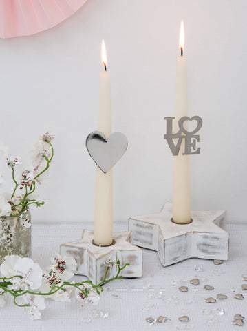 Candle Ring Decorations By Retreat Home - ash-dove