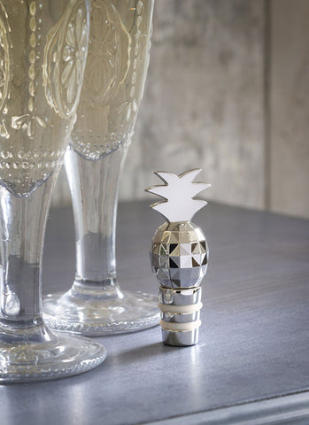 Retreat Home Pineapple Bottle Stopper - Ash & Dove