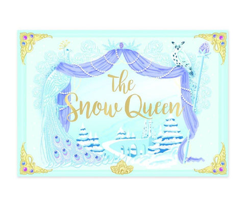 The Snow Queen Musical pop up card by My Design Collections - Ash & Dove